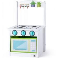 Kuchyňka dětská - Židlička dřevěná (Woody)