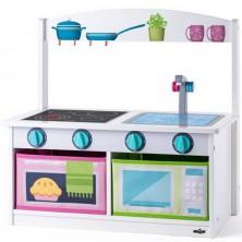 Kuchyňka dětská - Lavice dřevěná (Woody)