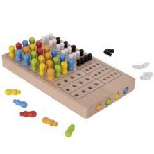 Společenská hra - Logik, Logická hra ze dřeva (Goki)