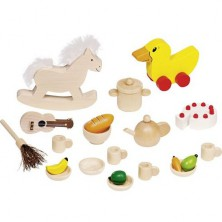 Nábytek pro panenky - Doplňky mix (Goki)