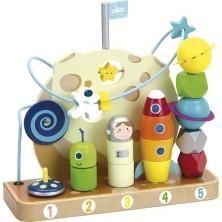 Skládačka - Multifunkční hračka Vesmír (Vilac)
