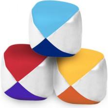 Žonglovací míček - Barevný koženkový, 3ks (Vilac)
