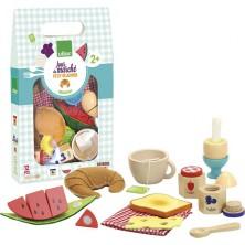Kuchyň - Dřevěný snídaňový set (Vilac)