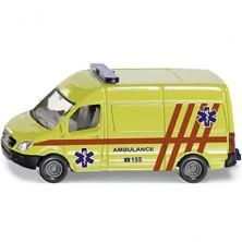 SIKU kovový model - Ambulance dodávka česká verze