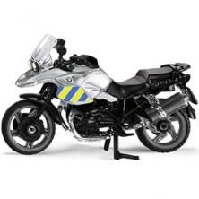 SIKU kovový model - Policie motorka česká verze