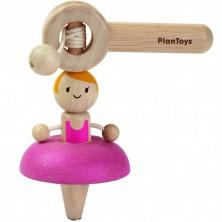 Dřevěná hračka - Káča baletka (PlanToys)