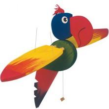 Závěsná hračka - Papoušek velký (Woody)
