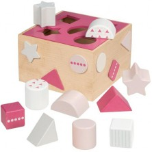 Vhazovačka - Vkládací krabička, Lifestyle růžová (Goki)