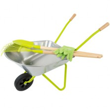 Zahradní kolečko - Set s nářadím (Legler)