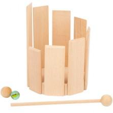 Hudba - Zvukový bubínek dřevěný (Legler)