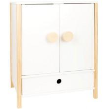 Skříň pro panenky - Dřevěná Little Button (Legler)
