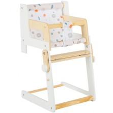 Židlička pro panenky - Multifunkční dřevěná Little Button (Legler)