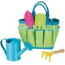 Zahradní nářadí - Zahradnická taška set (Goki)