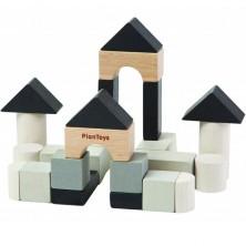Kostky - Barevné, Mini-stavební set, 24ks (Plantoys)