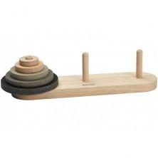 Hlavolam dřevěný - Hanojské věže (PlanToys)