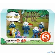 Schleich - Šmoulové, 1990-1999 (set 5 šmoulů)