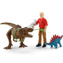 Schleich - Dinosaurus set, Útok Tyranosaura Rexe