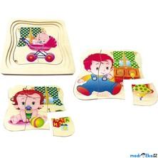 Puzzle výukové - Vývoj dítěte, 22ks