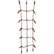 Šplhací síť - Lanová červená