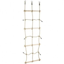 Šplhací síť - S dřevěnými příčkami