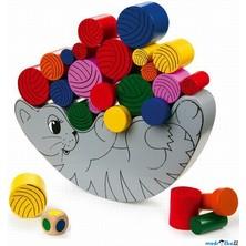 Motorická hra - Balancující kočka (Legler)