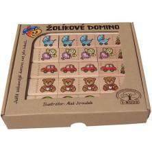 Domino - Masiv, Žolíkové hračky, 28ks