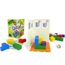 Společenská hra - Qubolo s dřevěnými kostkami v pytlíku