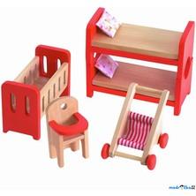 Nábytek pro panenky - Dětský pokoj (Woody)