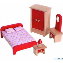 Nábytek pro panenky - Ložnice (Woody)