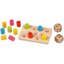 Společenská hra - Shut the box, Šance válečky (Goki)