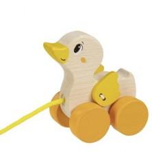 Tahací hračka - Kačenka dřevěná (Goki)