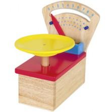Prodejna - Váha dřevěná kuchyňská (Goki)