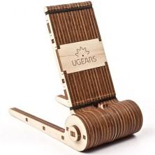 3D mechanický model - Stojánek na mobil (Ugears)