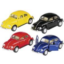 Kovový model - Auto Volkswagen Beetle (1967), 1:32, 1ks