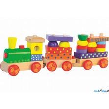 Vlak skládací - S potiskem, světlem a zvukem (Woody)