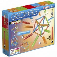 Geomag - Confetti, 35 ks