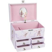 Šperkovnice - Hrací skříňka, Balerína VI (Goki)