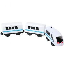 Vláčkodráha vláčky - Elektrická lokomotiva, vysokorychlostní (Bino)