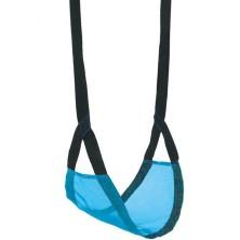 Houpačka - Závěsná dětská látková, modrá (Bino)