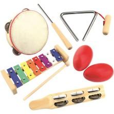 Hudba - Muzikální set, Músico, 5 nástrojů (Bino)