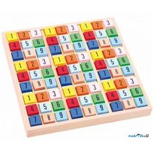 Sudoku - Barevné kostičky, dřevěné (Legler)