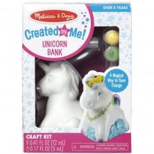 Kreativní sada - Dekorace, Pokladnička jednorožec (M&D)