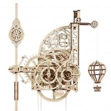 3D mechanický model - Aero Clock, Nástěnné hodiny (Ugears)