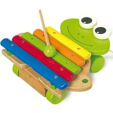 Hudba - Xylofon, Žába tahací na kolečkách (Legler)