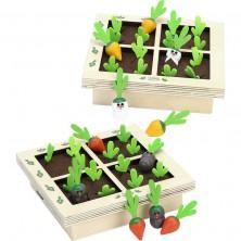 Společenská hra - Zeleninová zahrádka bitva (Vilac)