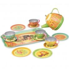 Kuchyň - Dětský čajový set, Musical kouzelný les (Vilac)