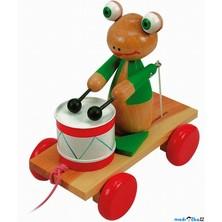 Tahací hračka - Bubínek žába (Woody)