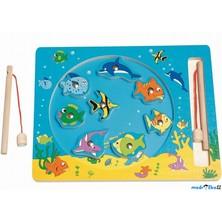 Magnetický rybolov - Ryby v kruhu (Woody)