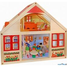 Domeček pro panenky - velký, Veronika (Woody)