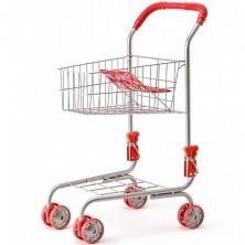 Prodejna - Nákupní vozík, Kovový (Woody)